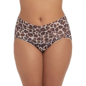 💋Just in💋Plus Size Leopard Brief